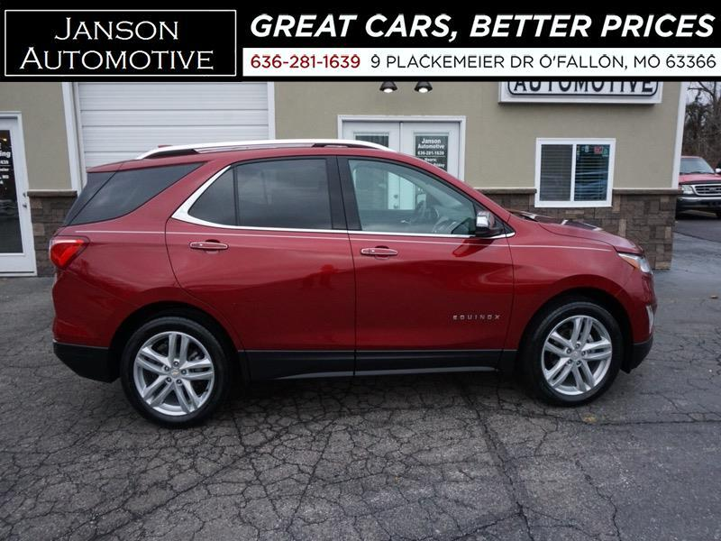 2018 Chevrolet Equinox PREMIER AWD 9K MILES NAV MOONROOF LEATHER 360 CAME