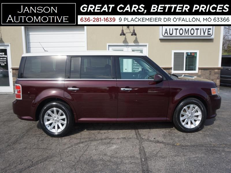 2011 Ford Flex SEL 3RD ROW LEATHER PREM WHEELS LOADED! MUST SEE!!