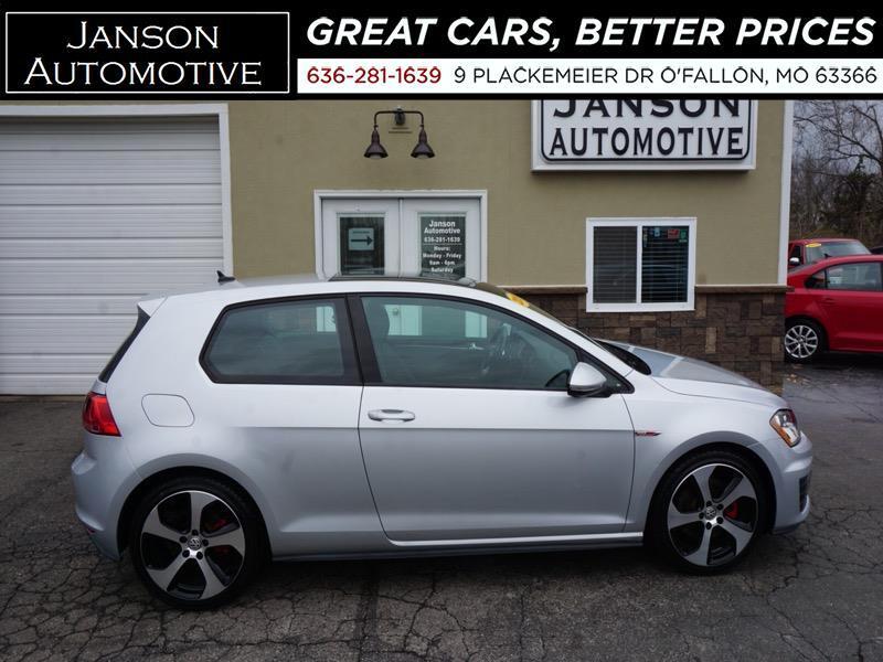 2015 Volkswagen GTI SE 22K MILES PAN ROOF LEATHER 1 OWNER NEW TIRES NO