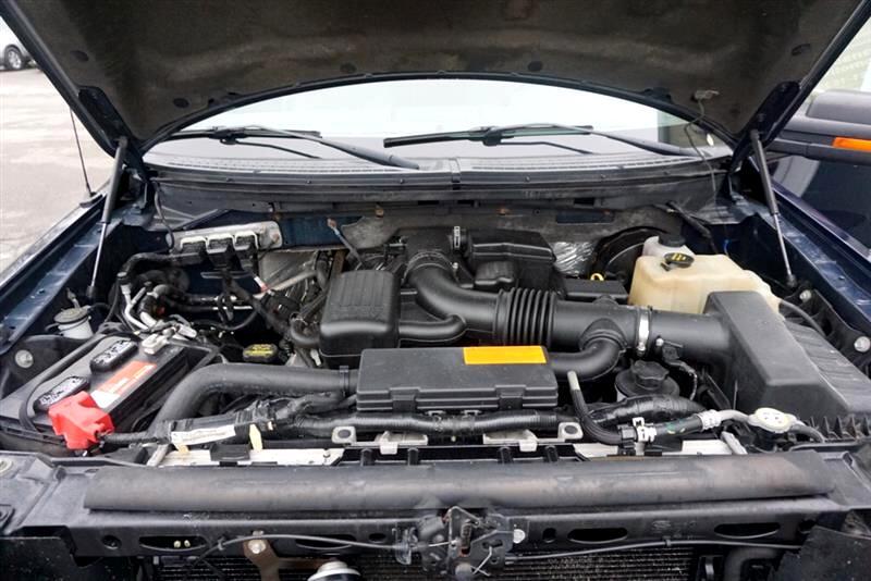 2009 Ford F-150 SUPERCREW XLT 4X4 CHROME WHEELS CHROME STEP TUBES