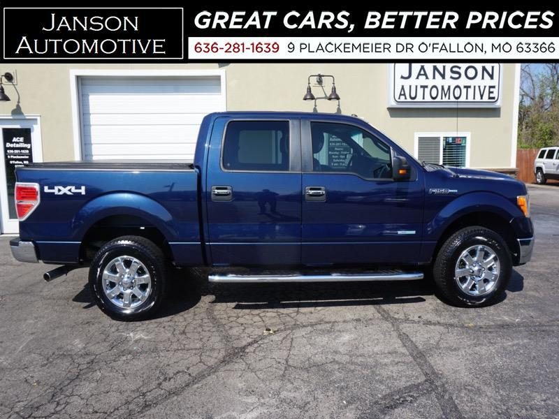 2013 Ford F-150 SUPERCREW XLT 4X4 3.5L ECOBOOST! 22MPG! MUST SEE!