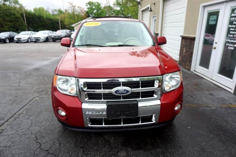 2010 Ford Escape LIMITED V6 MOONROOF LEATHER ONE OWNER NO ACC CHROM