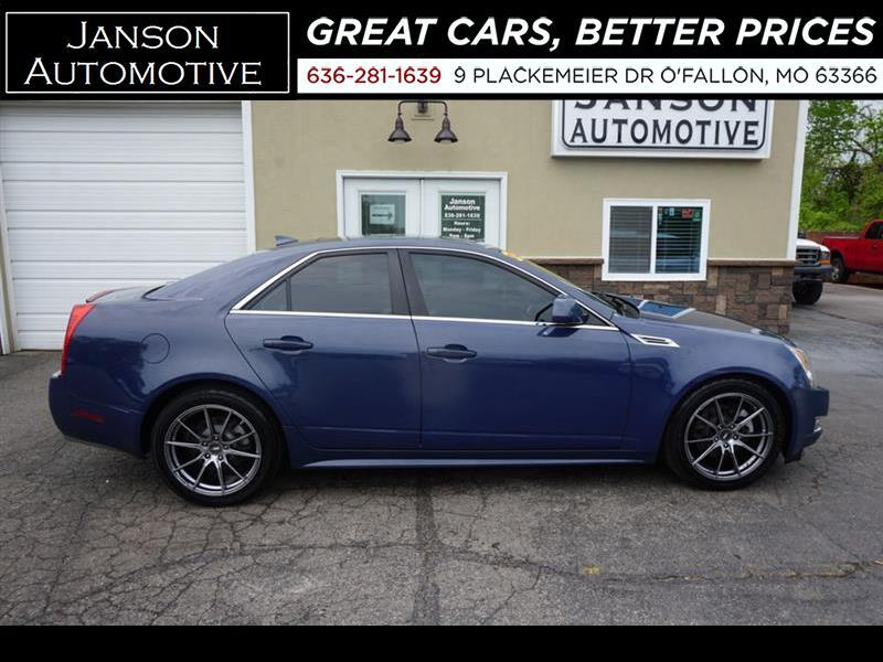 2010 Cadillac CTS PREMIUM AWD NAV PANORAMIC ROOF LEATHER PREM WHEELS