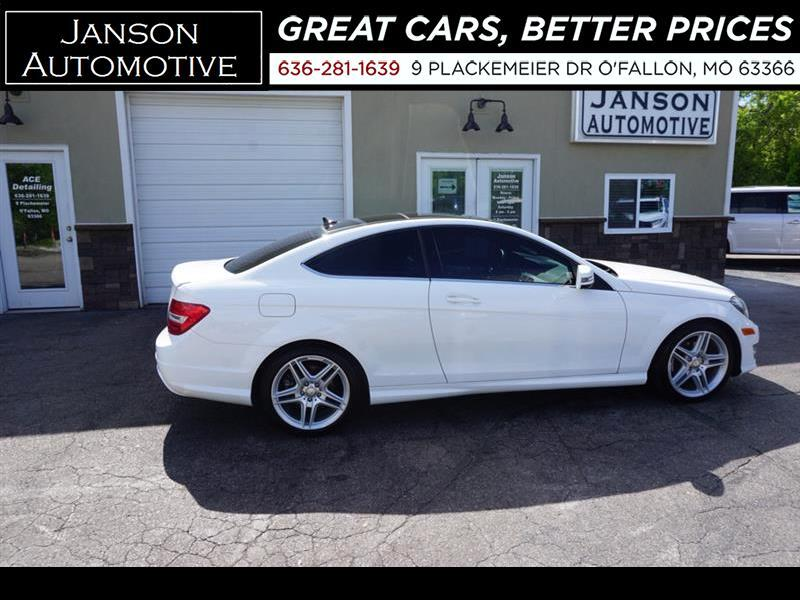 2013 Mercedes-Benz C-Class Clean History Report!! Pan. Roof , Lthr. , AMG Whe