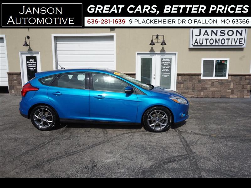 2013 Ford Focus HB SE, One Owner, Leather, Roof, Prem Alloy, 36 MP