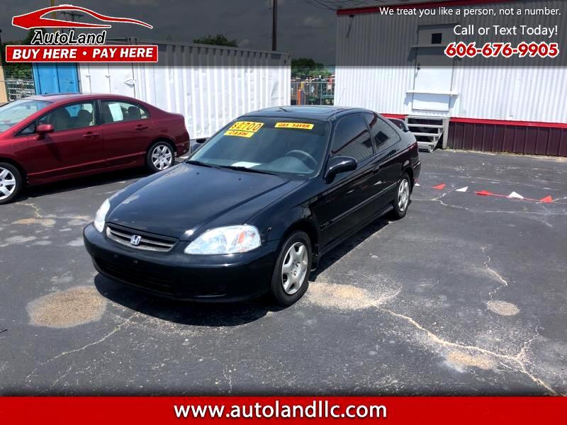 2000 Honda Civic 2dr Coupe EX Auto 1.6L