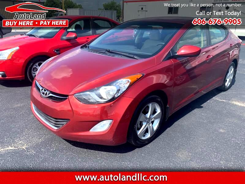 Hyundai Elantra GLS M/T 2013