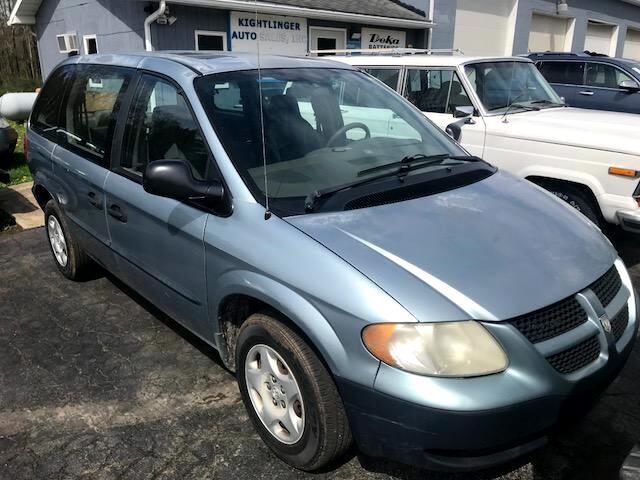 """2003 Dodge Caravan 4dr SE 113"""" WB"""