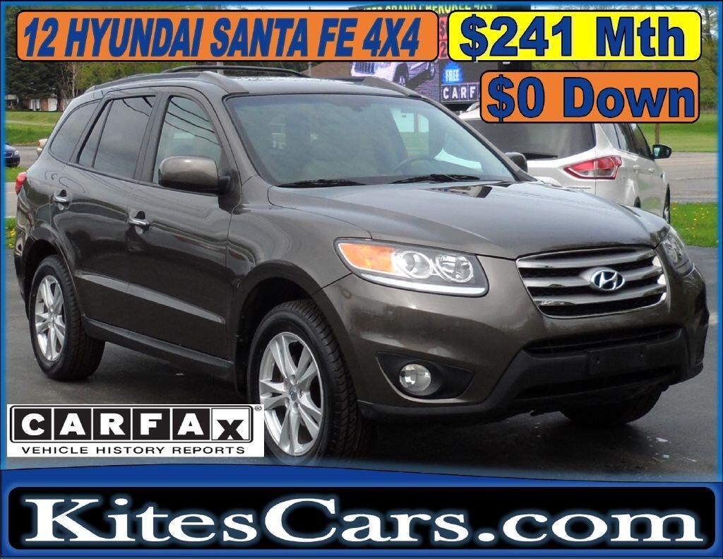 2012 Hyundai Santa Fe AWD 4dr V6 Limited