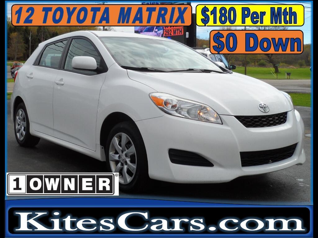2012 Toyota Matrix 5dr Wgn Man L FWD (Natl)