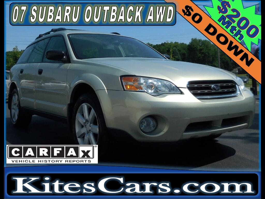 2007 Subaru Legacy Wagon 4dr H4 AT Outback