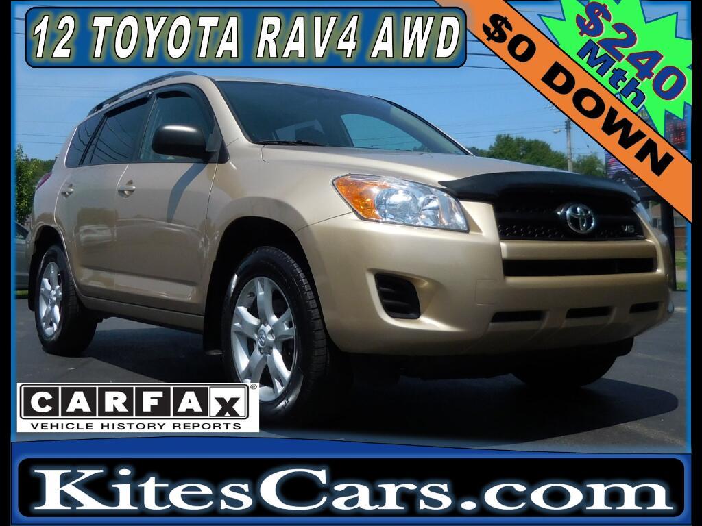 2012 Toyota RAV4 4WD 4dr V6 (Natl)