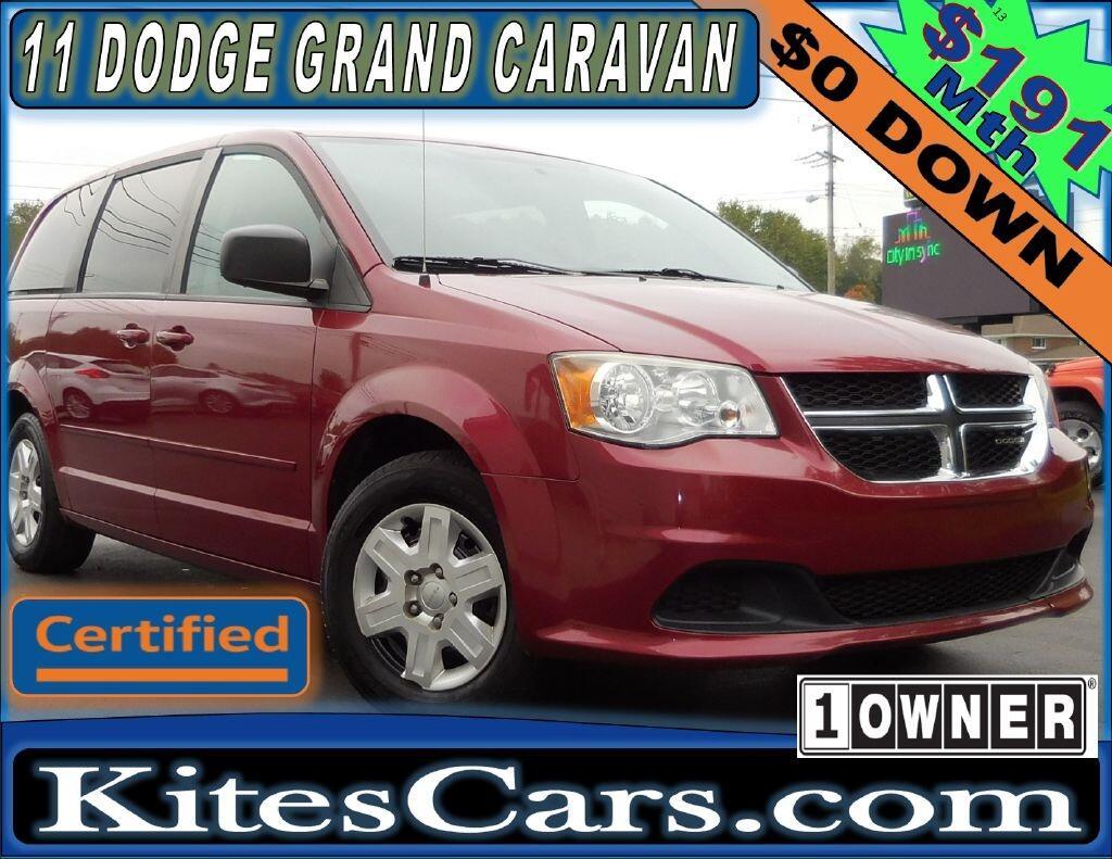 2011 Dodge Grand Caravan 4dr Wgn Express