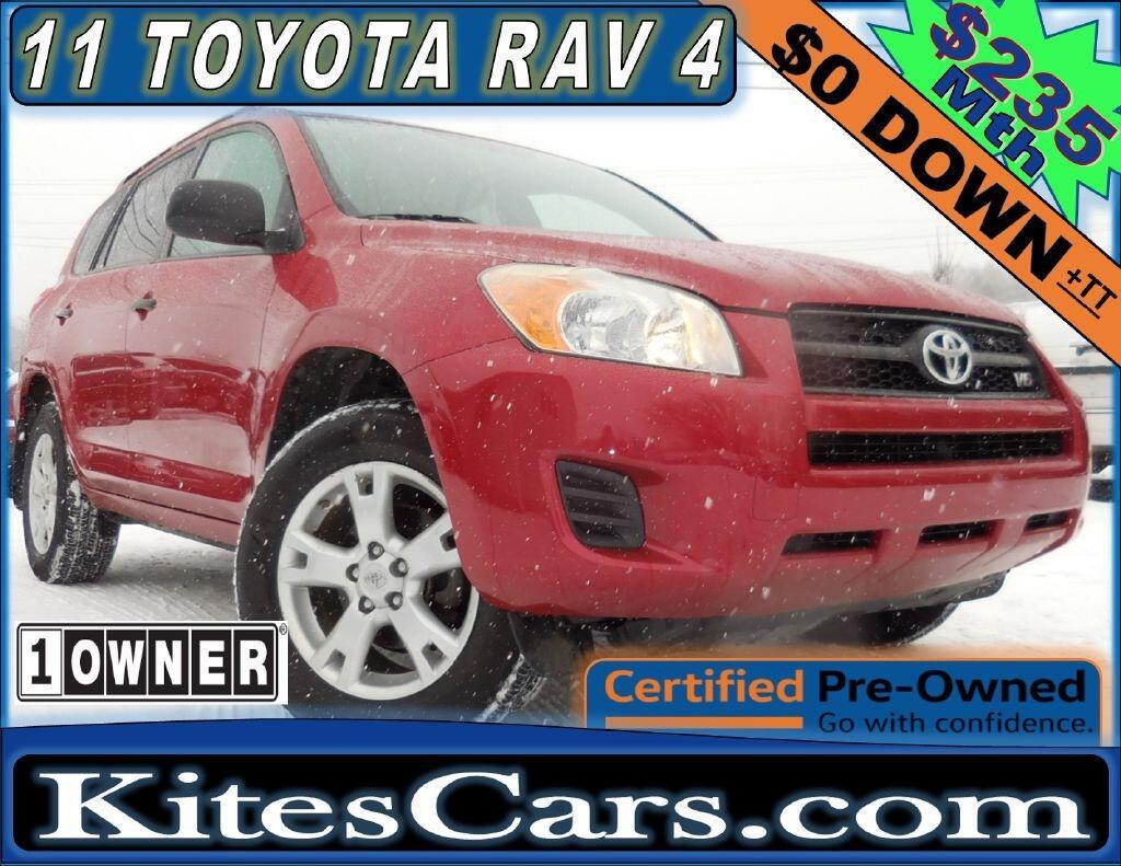 2011 Toyota RAV4 4WD 4dr V6 5-Spd AT (Natl)