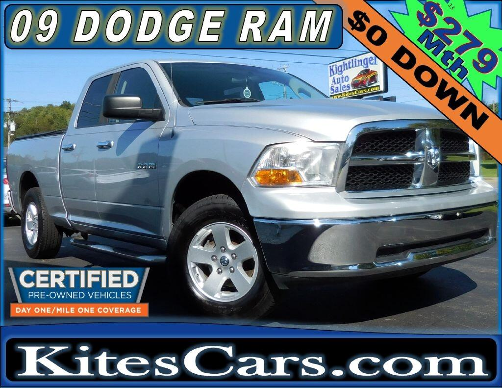 "2009 Dodge Ram 1500 4WD Quad Cab 140.5"" SLT"