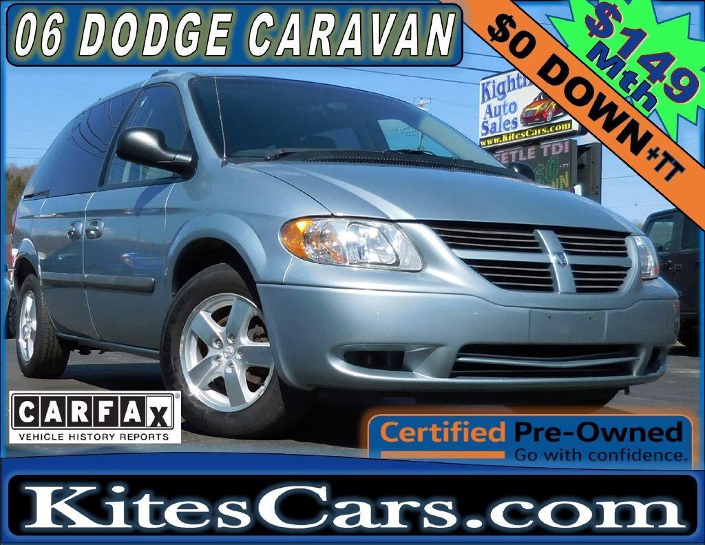 2006 Dodge Caravan 4dr SXT