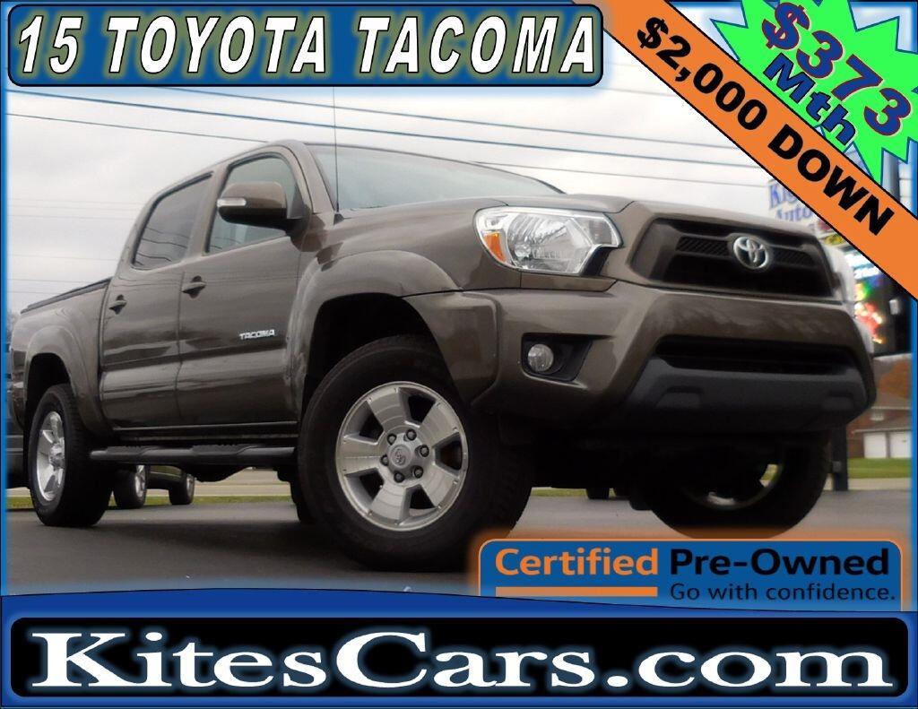 2015 Toyota Tacoma 4WD Double Cab V6 AT (Natl)