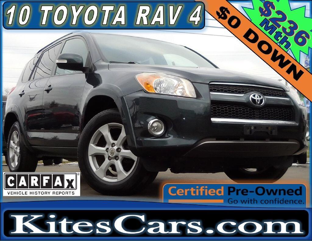 2010 Toyota RAV4 4WD 4dr 4-cyl 4-Spd AT Ltd (Natl)