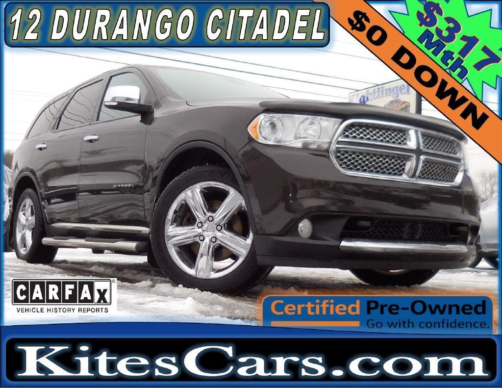 2012 Dodge Durango AWD 4dr Citadel