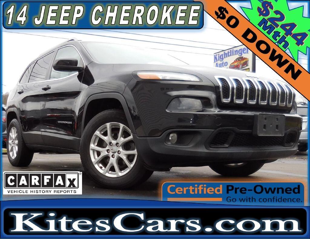 2014 Jeep Cherokee 4WD 4dr Latitude
