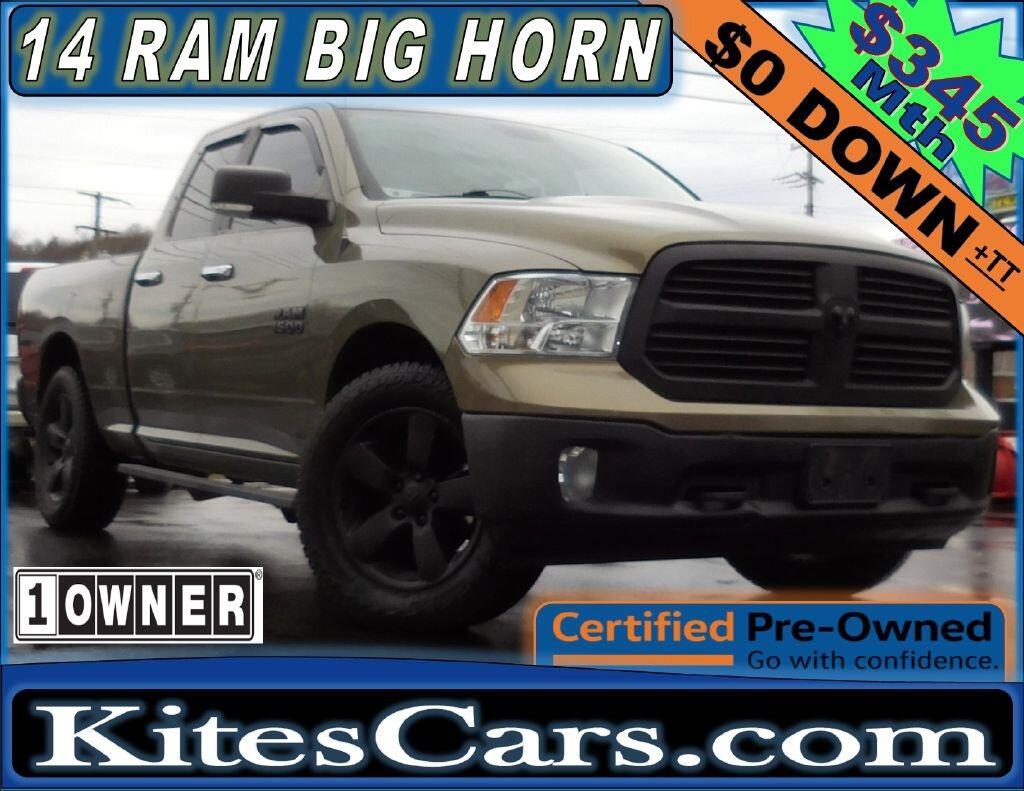 "2014 RAM 1500 4WD Quad Cab 140.5"" Big Horn"