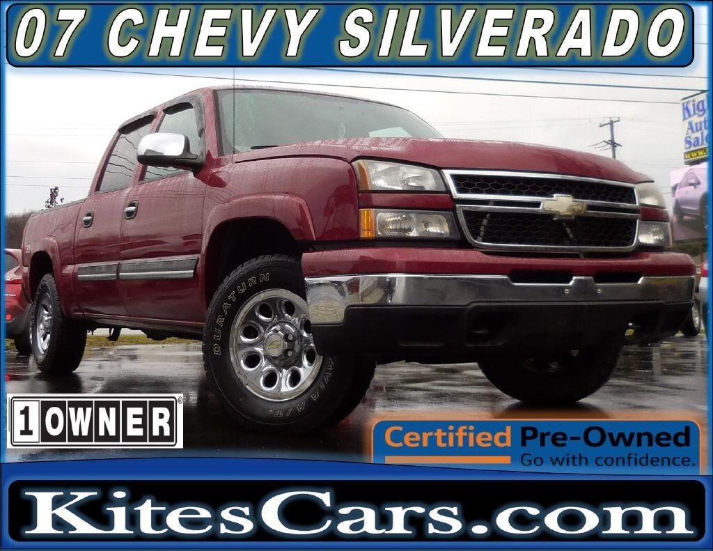 "2007 Chevrolet Silverado 1500 Classic 4WD Crew Cab 143.5"" LS"