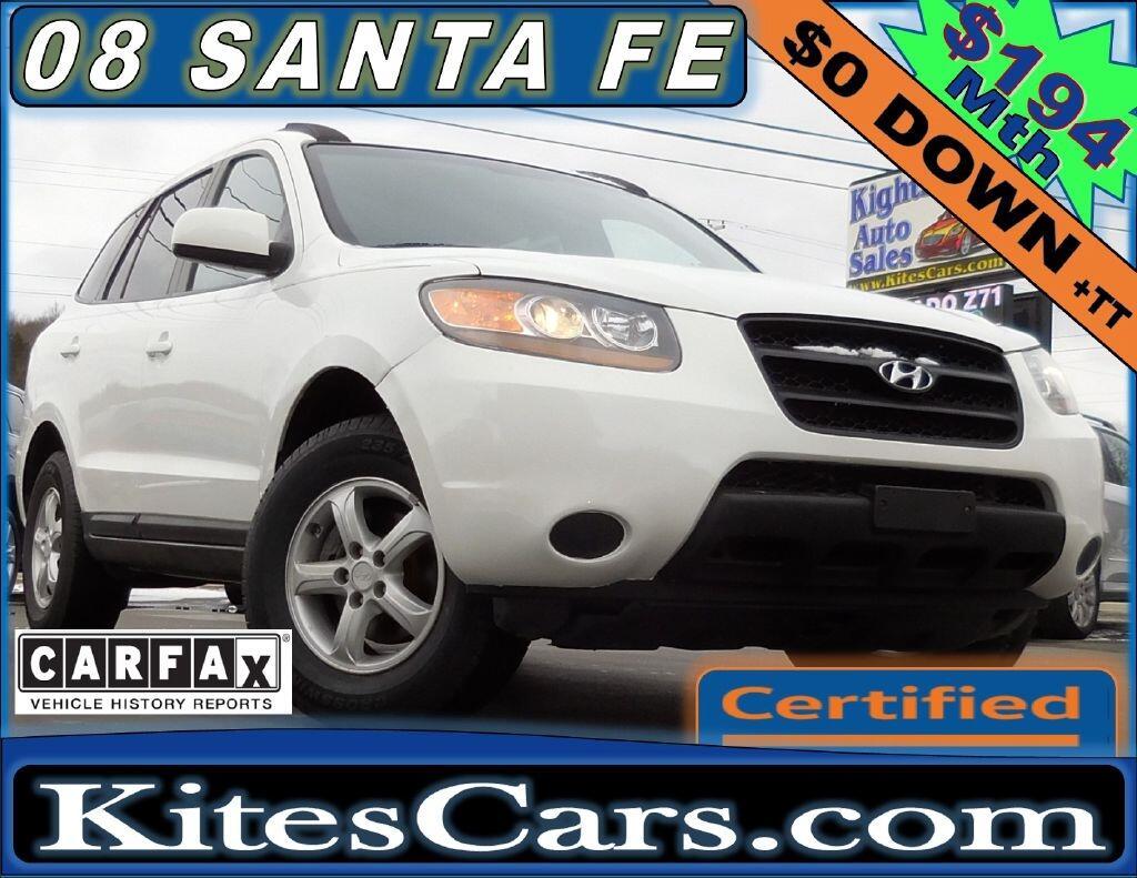 2008 Hyundai Santa Fe FWD 4dr Man GLS