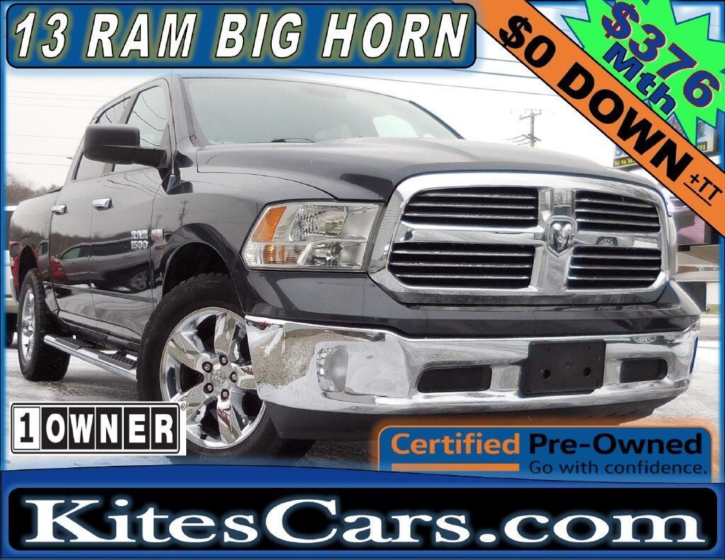 "2013 RAM 1500 4WD Crew Cab 140.5"" Big Horn"