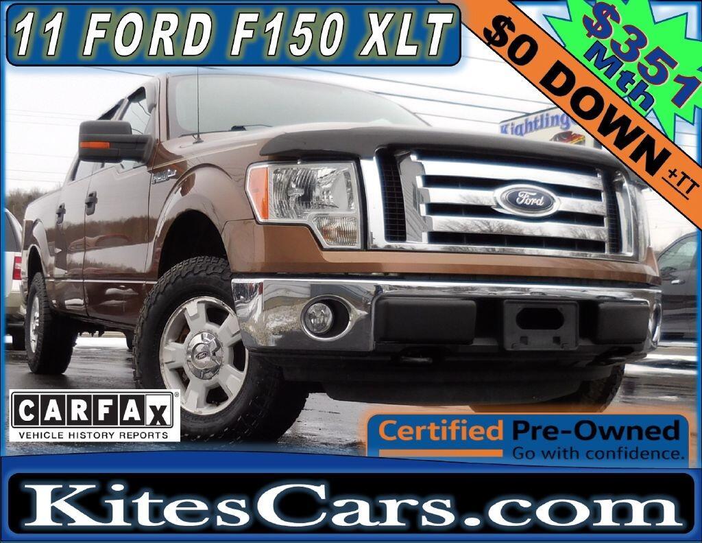 "2011 Ford F-150 4WD SuperCrew 145"" XL"