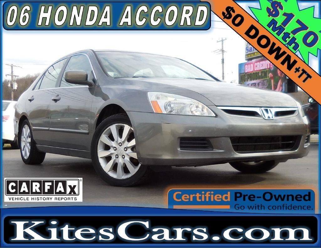 2006 Honda Accord Sdn EX-L V6 AT