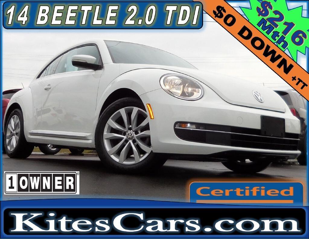 2014 Volkswagen Beetle Coupe 2dr DSG 2.0L TDI