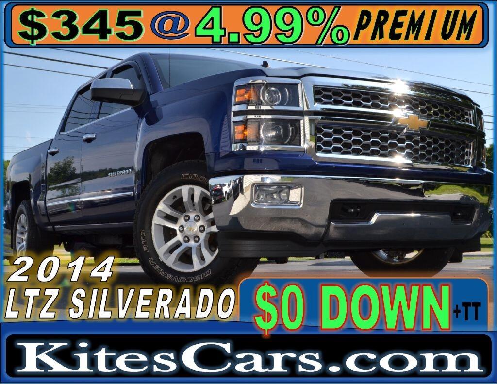 "2014 Chevrolet Silverado 1500 4WD Crew Cab 143.5"" LTZ w/1LZ"