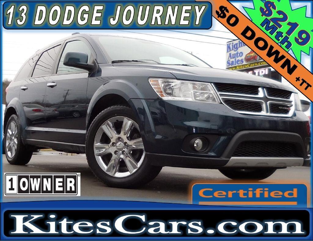 2013 Dodge Journey AWD 4dr Crew