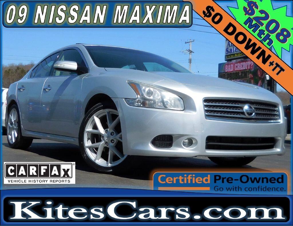 2009 Nissan Maxima 4dr Sdn V6 CVT 3.5 SV