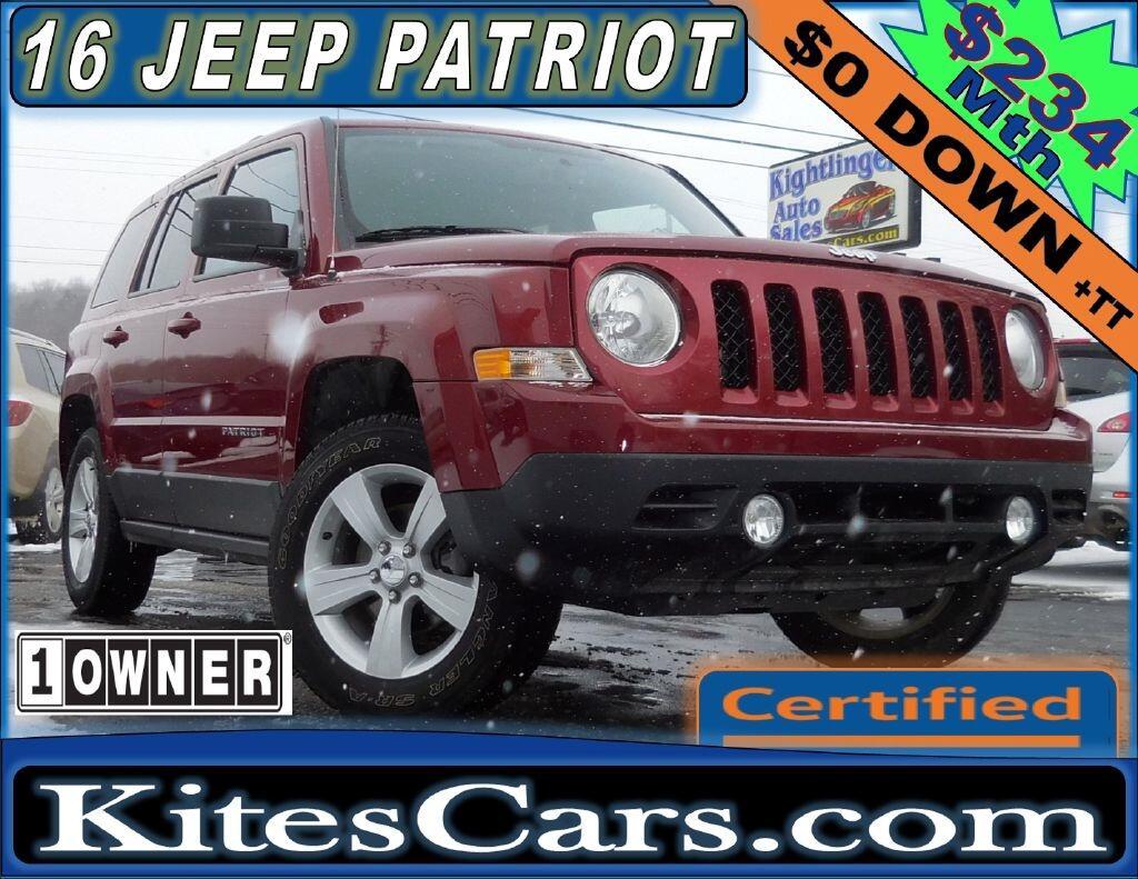 2016 Jeep Patriot 4WD 4dr Sport