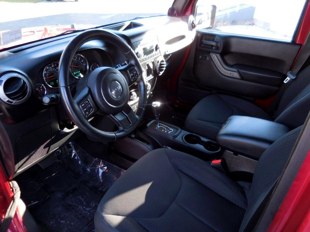 Used 2013 jeep wrangler unlimited 4wd 4dr sport for sale - Jeep wrangler red interior for sale ...