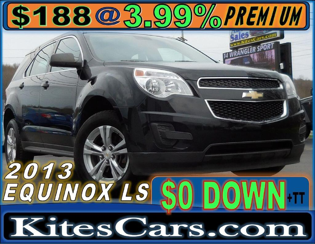 2013 Chevrolet Equinox AWD 4dr LS