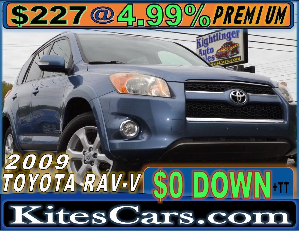 2009 Toyota RAV4 4WD 4dr 4-cyl 4-Spd AT Ltd (Natl)
