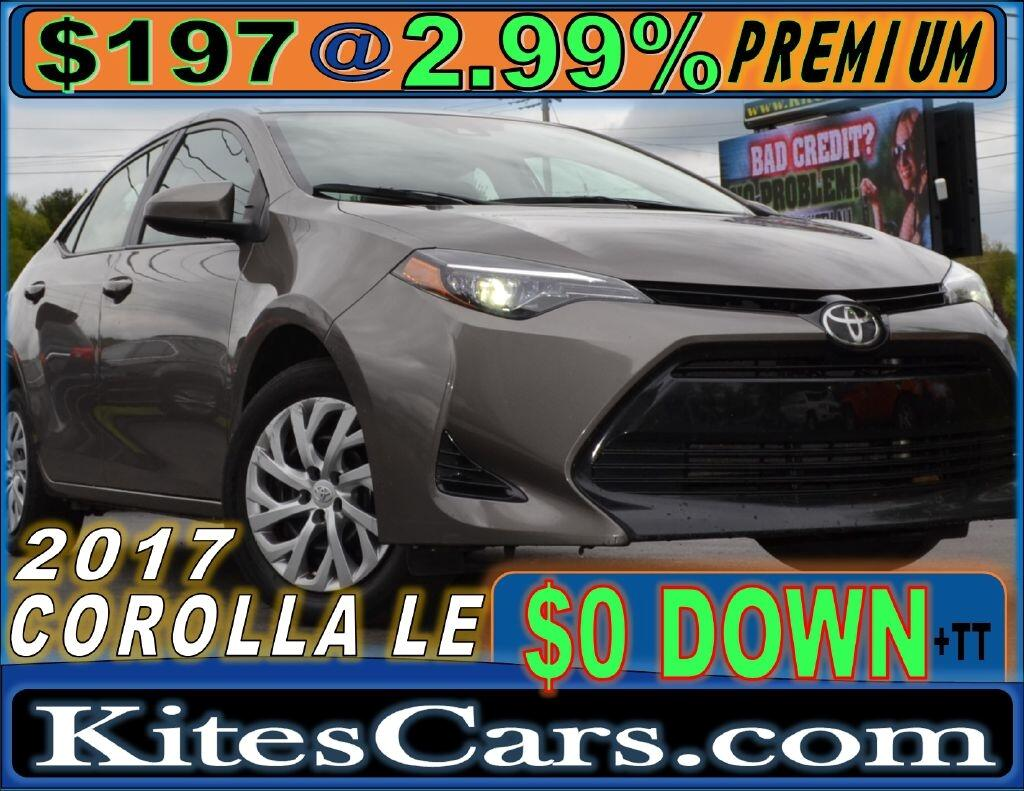 2017 Toyota Corolla 4dr Sdn Auto LE (Natl)
