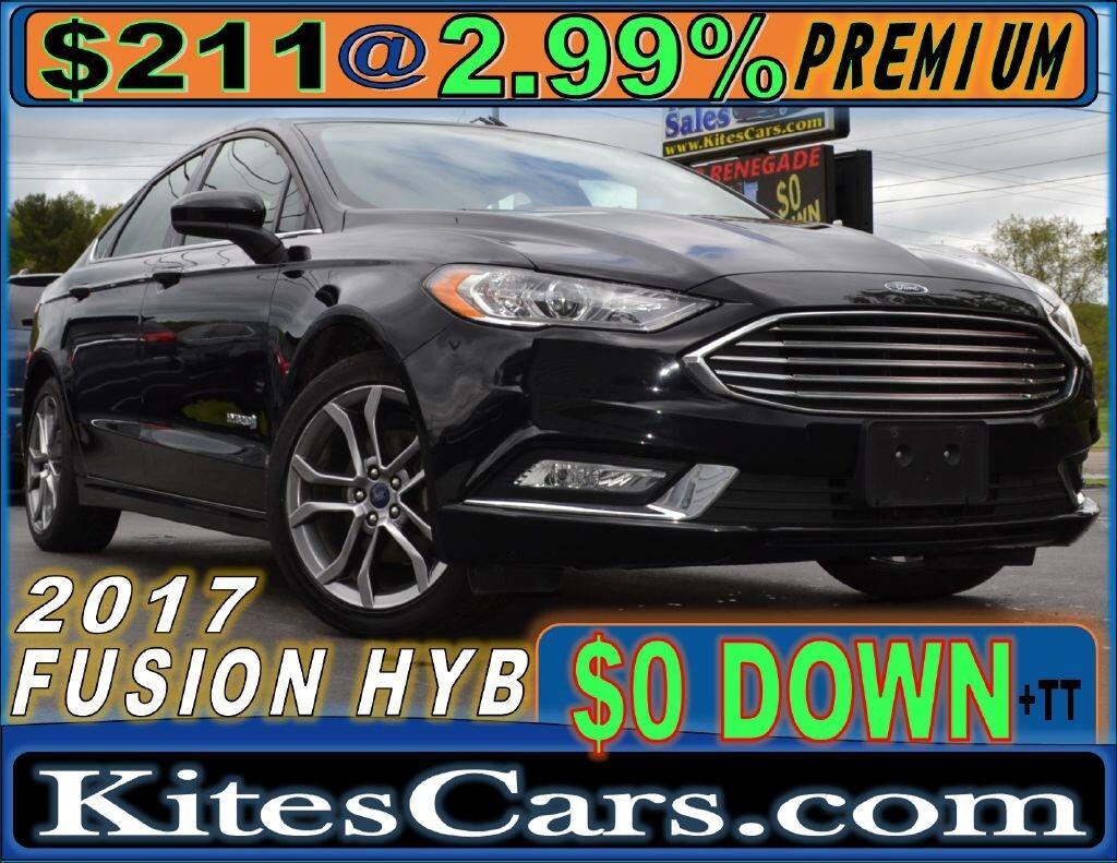 2017 Ford Fusion Hybrid SE FWD