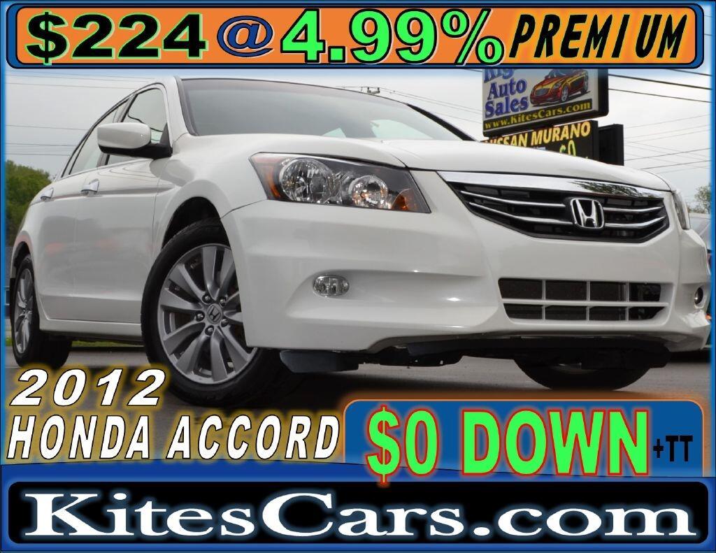 2012 Honda Accord Sdn 4dr V6 Auto EX