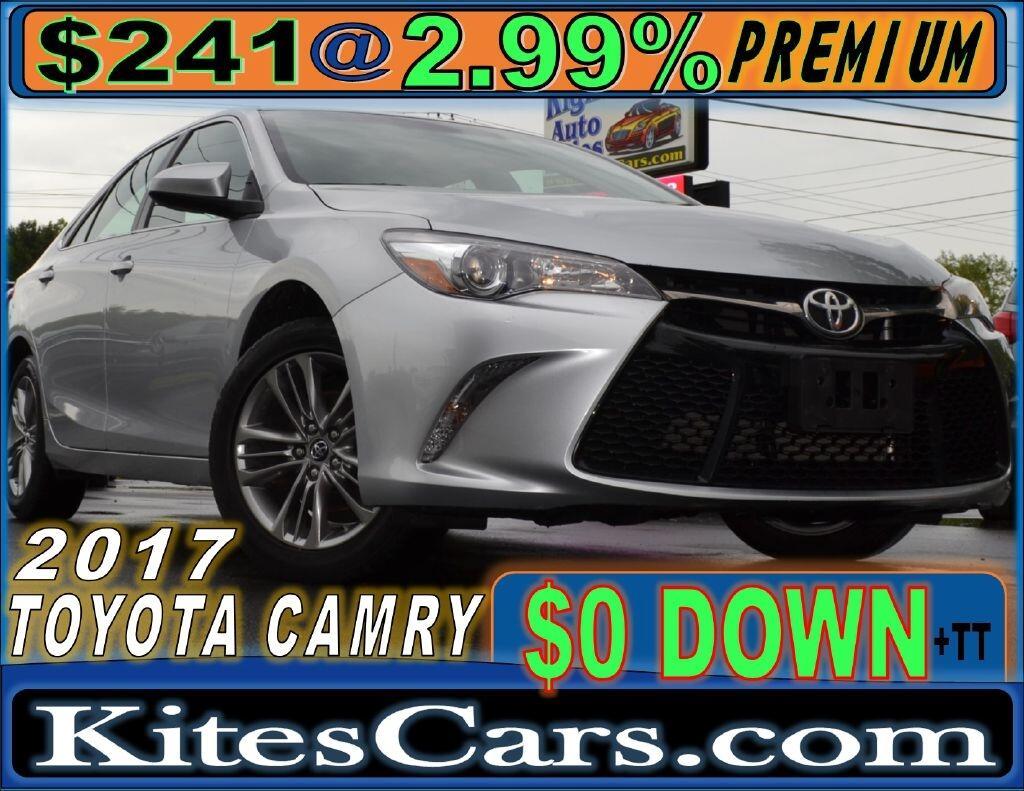 2017 Toyota Camry XLE Auto (Natl)