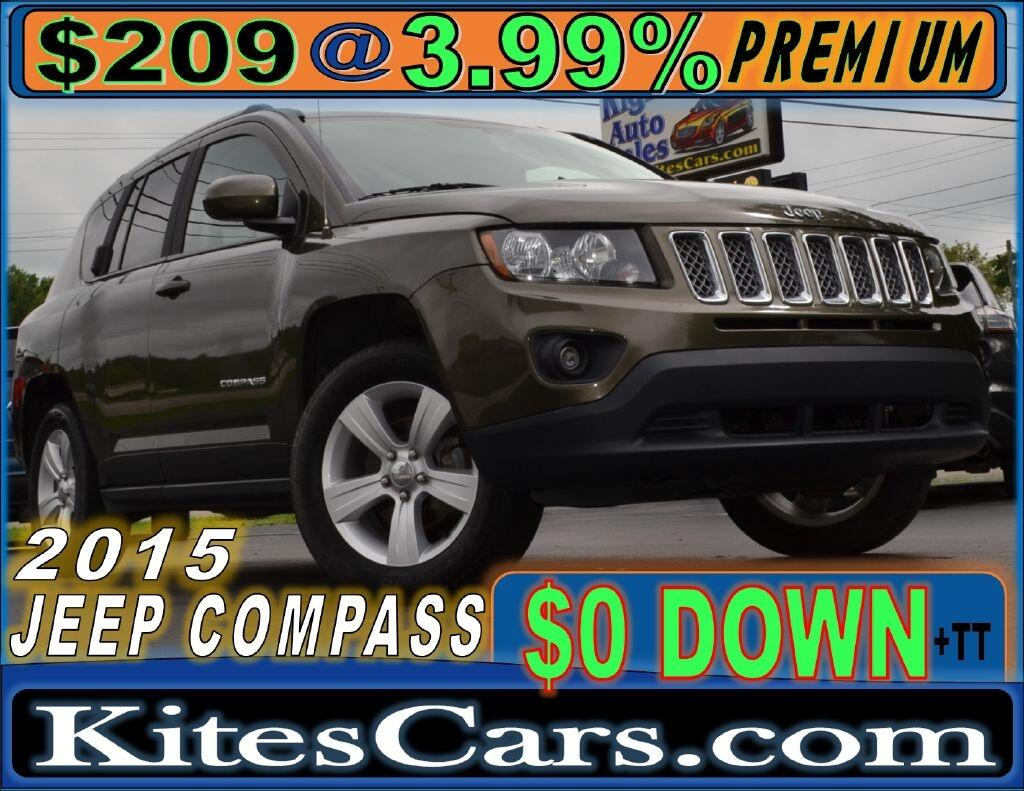 2015 Jeep Compass 4WD 4dr Latitude