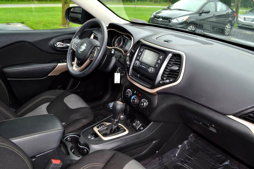 2017 Jeep Cherokee Sport 4x4