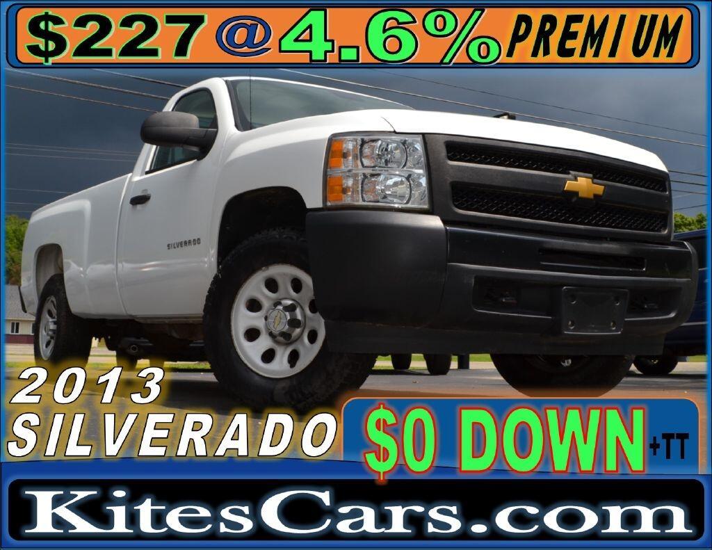 """2013 Chevrolet Silverado 1500 4WD Reg Cab 133.0"""" Work Truck"""