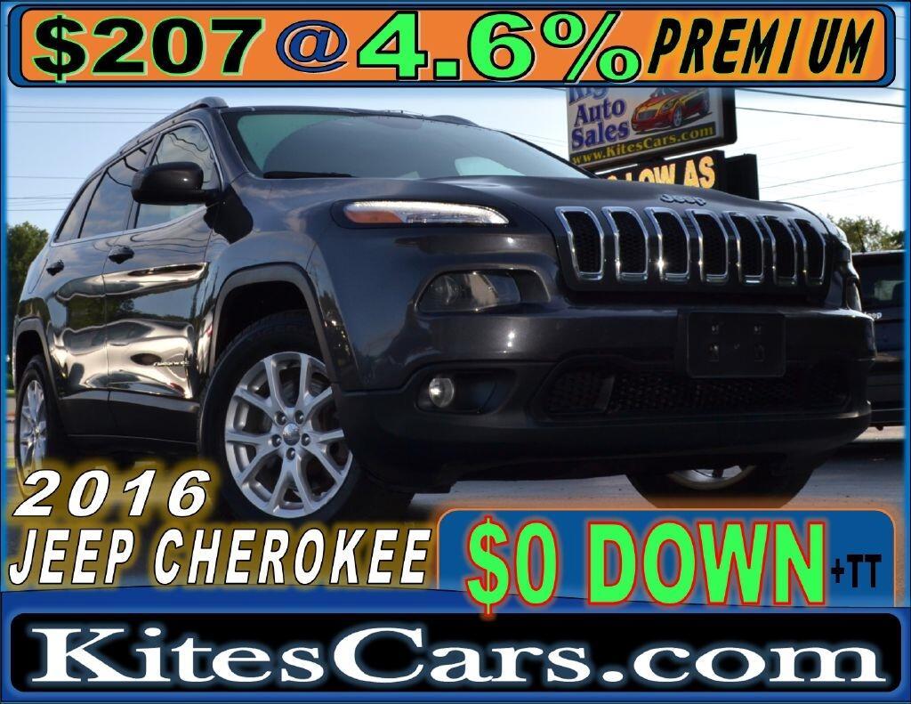 2016 Jeep Cherokee 4WD 4dr Latitude