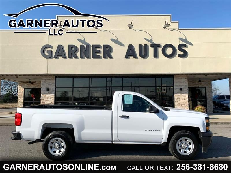 Chevrolet Silverado 1500 Work Truck Short Box 2WD 2015