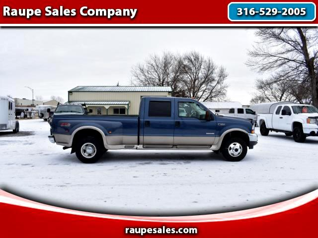 2004 Ford F-350 SD Lariat Crew Cab Long Bed 4WD DRW