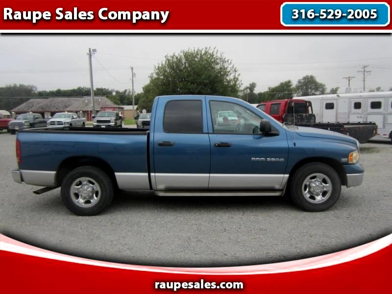 Dodge Ram 2500 SLT Quad Cab Short Bed 2WD 2003