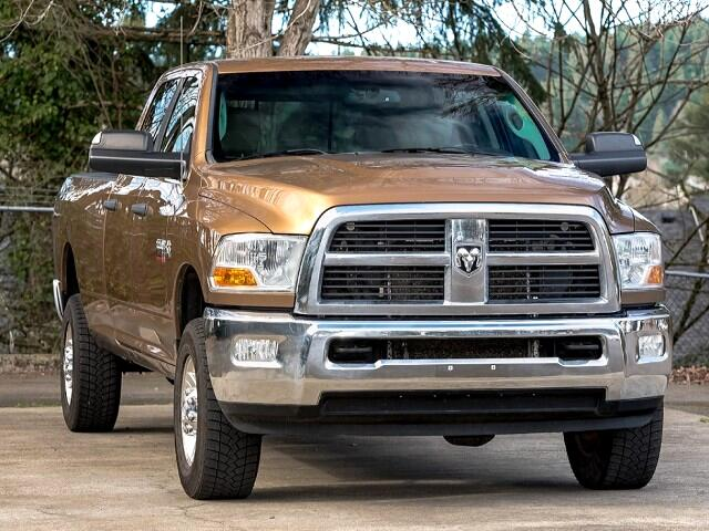 2011 RAM 3500 SLT Crew Cab Long Bed 4WD 1-Owner Low Miles